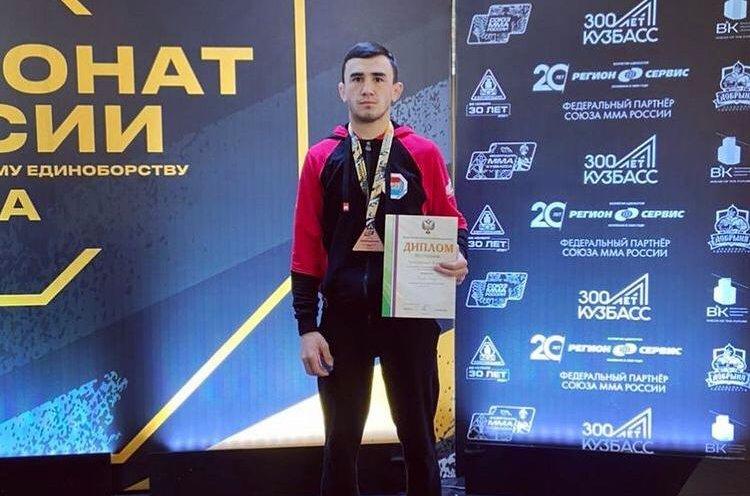 Приморский спортсмен выступит на чемпионате Европы по смешанному боевому единоборству ММА