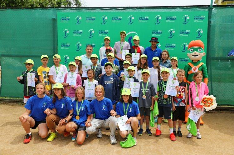 Во Владивостоке завершился первый этап теннисного турнира «Кубок Славда»