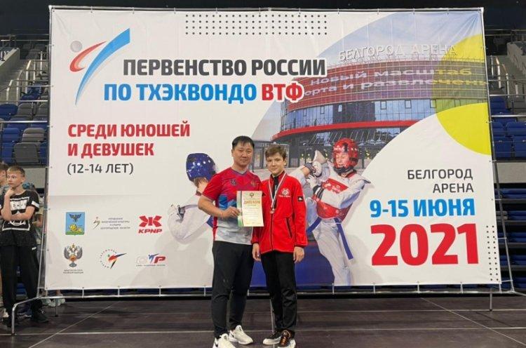 Приморец занял третье место на первенстве России по тхэквондо