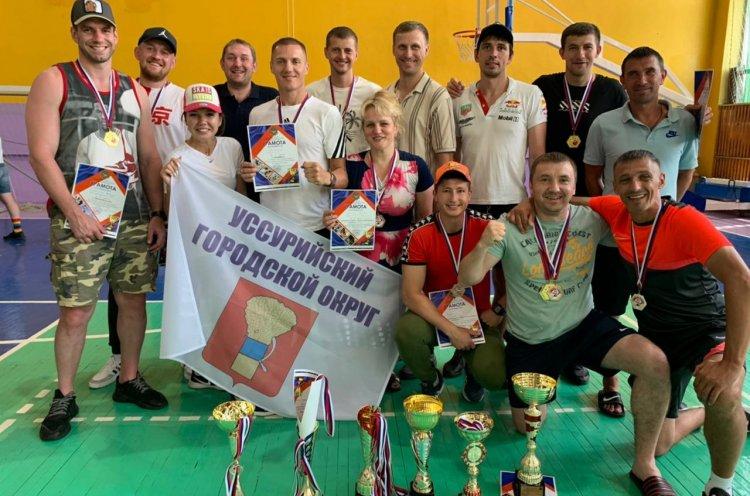 Сборные команды Уссурийска и Надеждинского района заняли первое место в летней Спартакиаде
