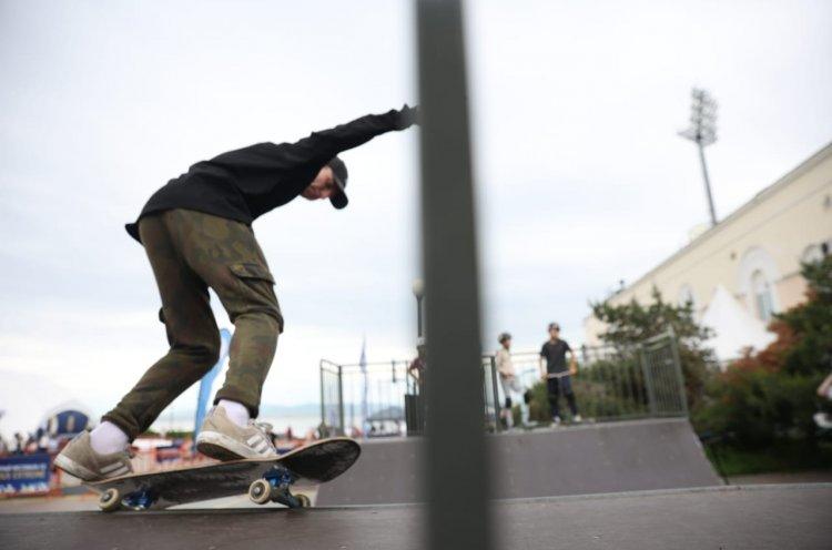 Спортивные выходные в Приморье – гребля, скейтбординг и танцы