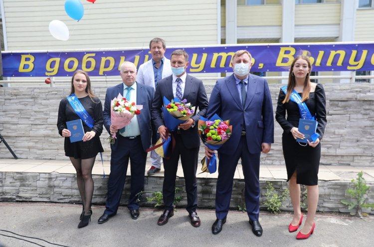56 выпускников получили дипломы в Приморском государственном училище олимпийского резерва