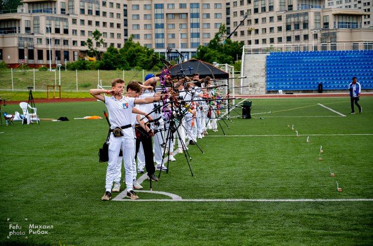 Чемпионат и первенство Приморского края по стрельбе из лука состоялись в кампусе ДВФУ