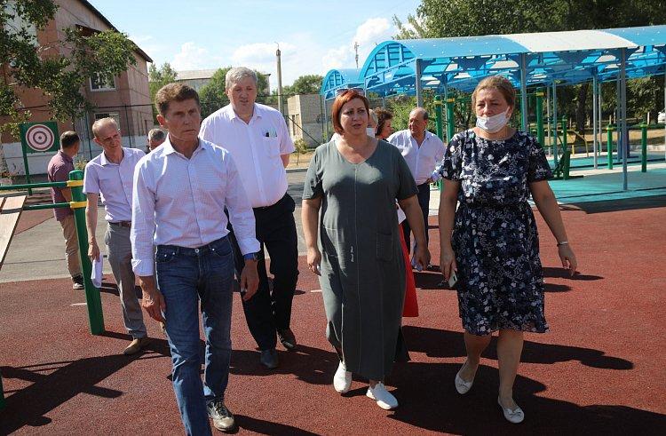 Школу батута и акробатики могут открыть в Приморье