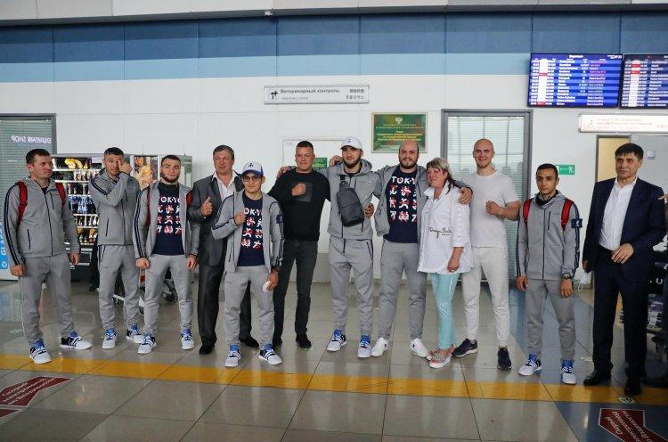 Национальная сборная по боксу начала во Владивостоке подготовку к Олимпиаде
