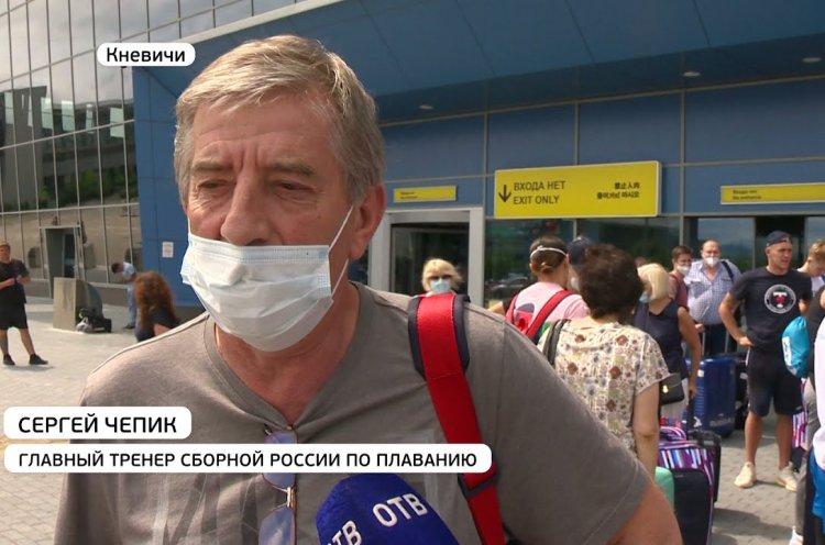 Вслед за гребцами в столицу Приморья прибыла российская сборная по плаванию