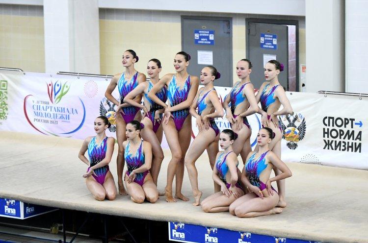 Приморские синхронистки выполнили норматив «Мастер спорта России»