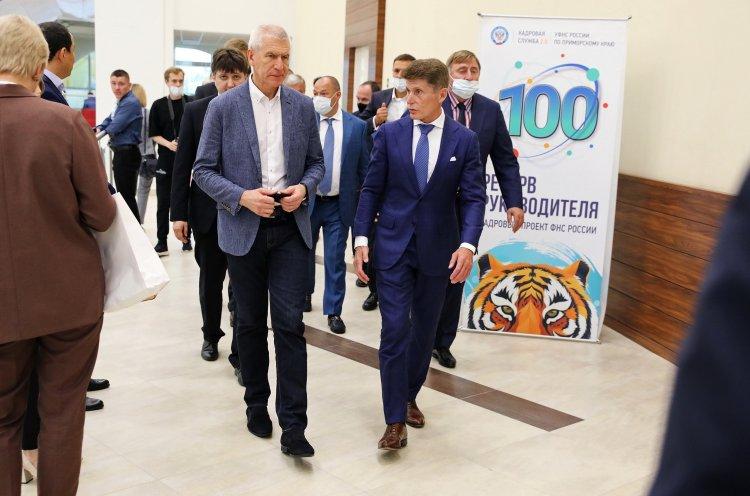 Министр спорта России поблагодарил Губернатора Приморья за радушный прием олимпийских сборных