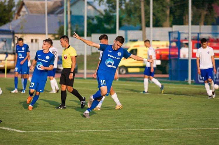 «Динамо-Владивосток» уверенно дебютировало во втором дивизионе ФНЛ