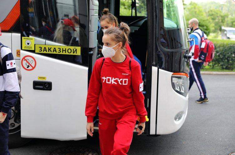 Национальная сборная по художественной гимнастике готовится в Приморье к токийской Олимпиаде