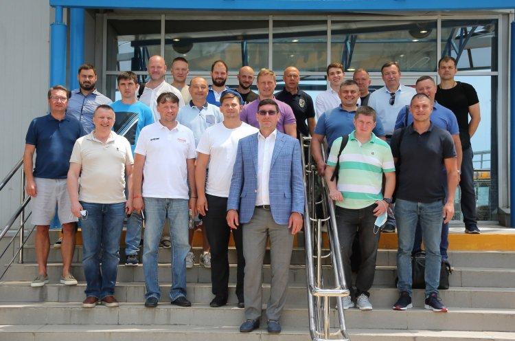 Главный тренер «Тайфуна» Виктор Гордиюк получил первую национальную категорию