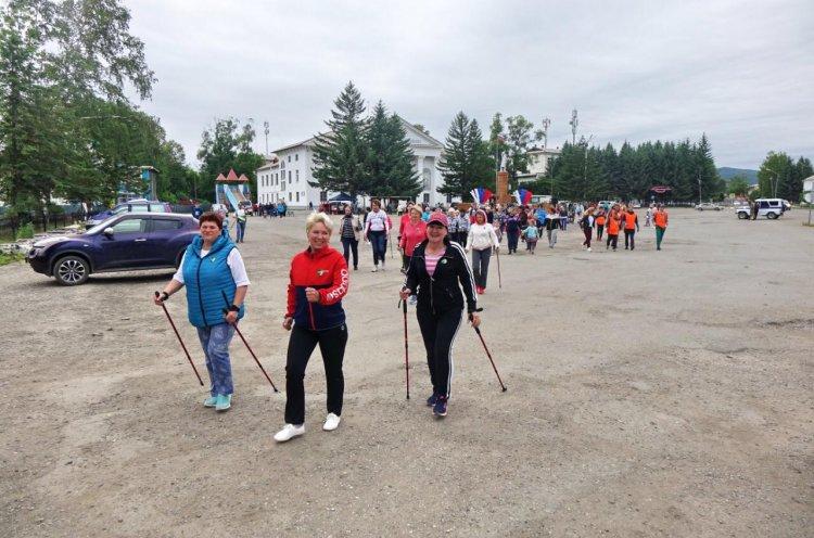 Бесплатные мастер-классы по скандинавской ходьбе проводятся в Приморье