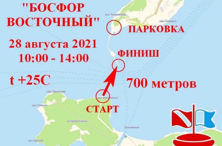 Массовый заплыв через пролив Босфор Восточный состоится во Владивостоке