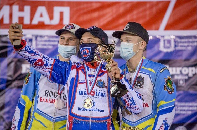 Юниоры «Востока» стали призерами личного первенства России
