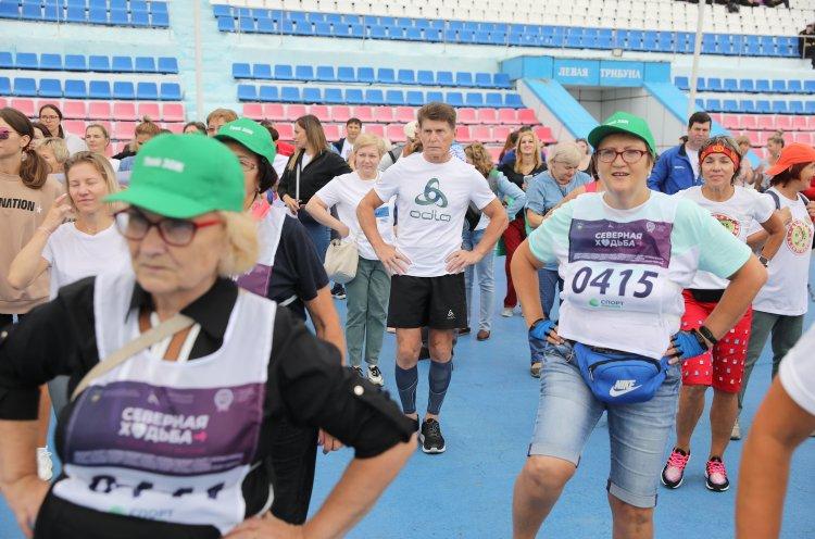 Олег Кожемяко дал старт акции «10 000 шагов к жизни» в Приморье
