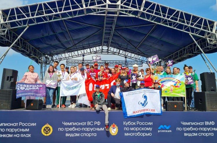 В краевом этапе соревнований по «Северной ходьбе» победил коллектив МТС