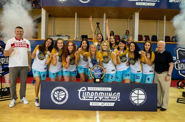 Приморские баскетболистки стали чемпионками России