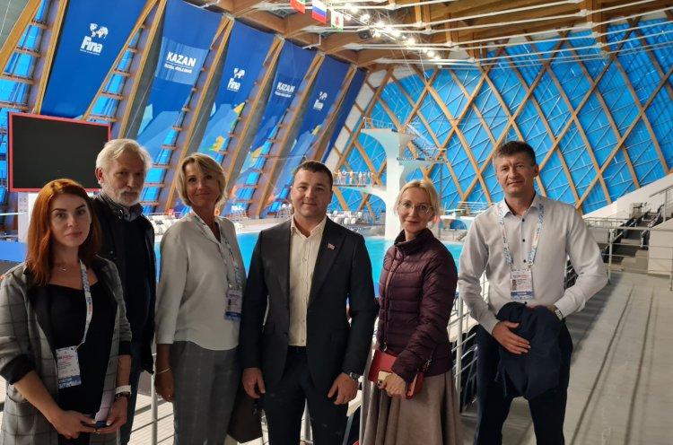 Приморье будет сотрудничать с Татарстаном в сфере строительства спортсооружений