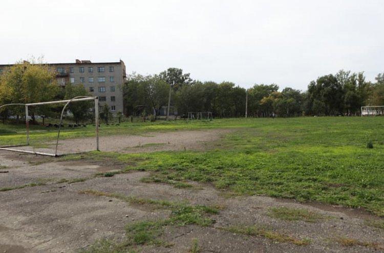 Школьный стадион реконструируют в Лесозаводске
