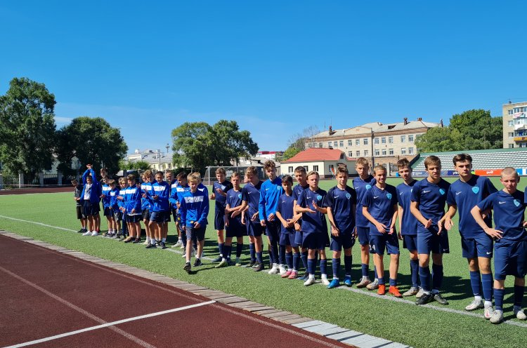 Юные приморские футболисты заняли третье место на Кубке РФС