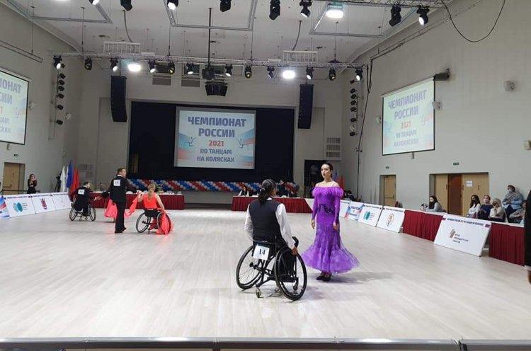 Приморцы выиграли «бронзу» на чемпионате России по спортивным танцам на колясках