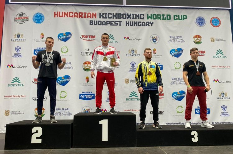 Приморец Александр Михайлюк завоевал Кубок мира по кикбоксингу