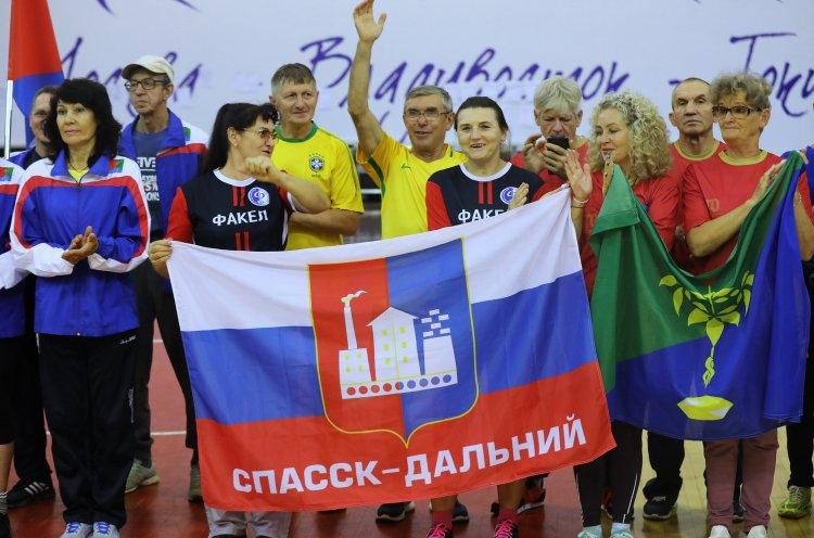 Команда Спасска-Дальнего стала победителем краевого фестиваля ГТО среди пенсионеров