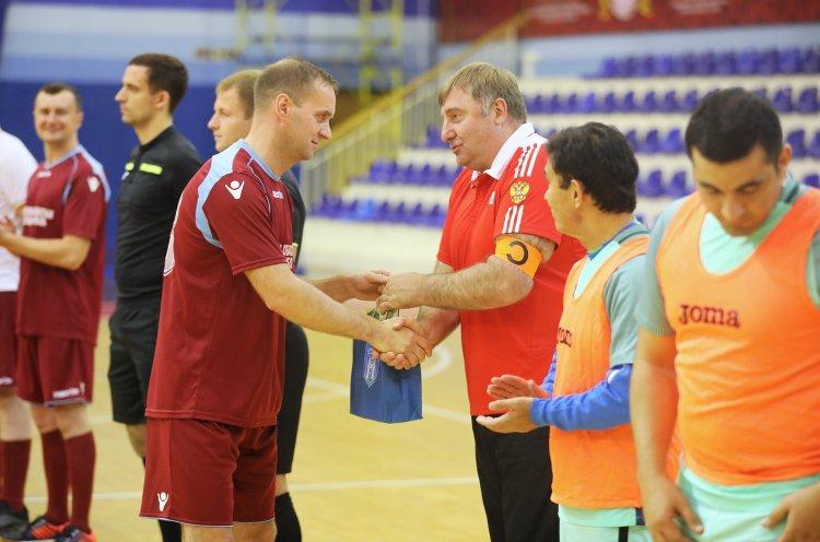 В футбольном матче приморцев с белорусами победила дружба
