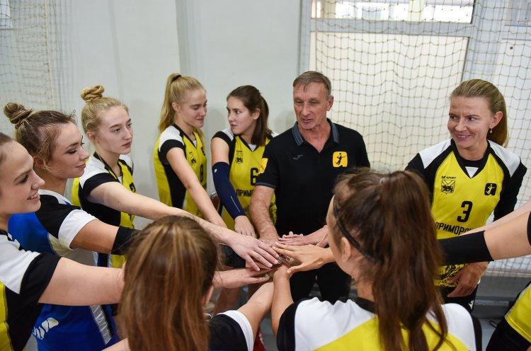Волейбольный клуб «Приморочка» возвращается в Высшую лигу