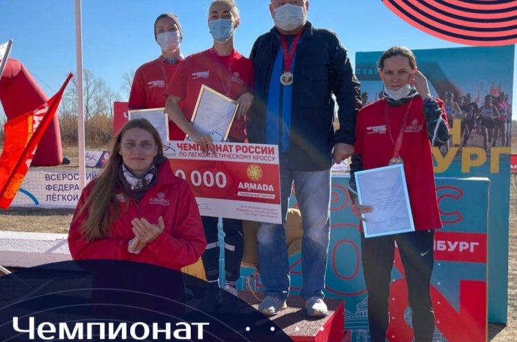 Легкоатлетка Наталья Колоскова из Приморья завоевала «серебро» на чемпионате России
