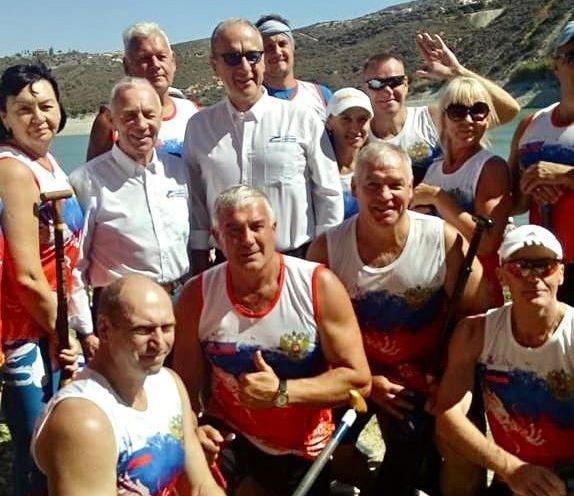 Приморские гребцы проявили себя на международных соревнованиях в Лимассоле